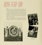 Hoya-Terp Day, as described in the 1940 Terrapin yearbook.  (click to view)